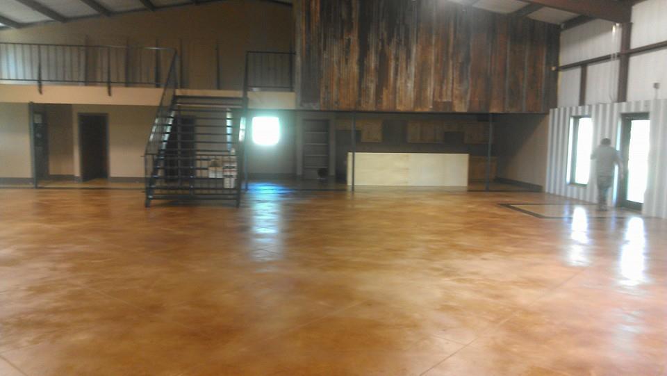 The new floors in Serenity Springs